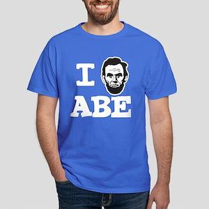 I Love Lincoln Official ABE Dark T-Shirt