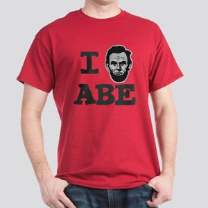 I Love Lincoln Official ABE Dark T-Shirt