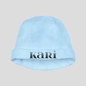 Kari Carved Metal baby hat