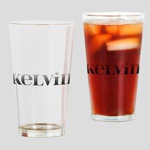 Kelvin Carved Metal Drinking Glass