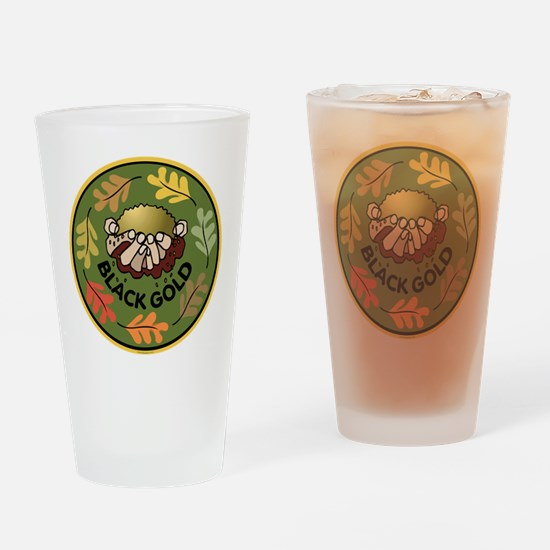 Black Gold Composting Drinking Glass