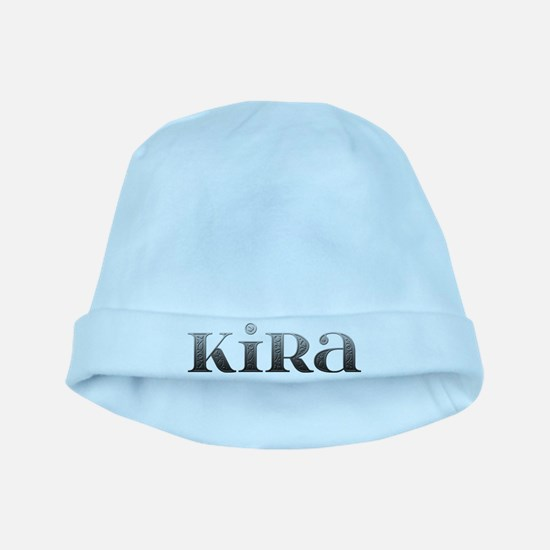 Kira Carved Metal baby hat