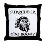Booty Surrender Throw Pillow
