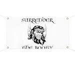 Booty Surrender Banner