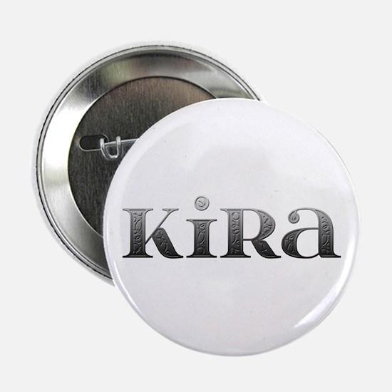 Kira Carved Metal Button