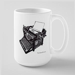 Antique Typewriter Large Mug