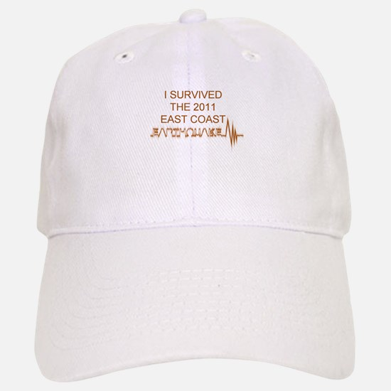 I Survived Earthquake Baseball Baseball Cap