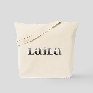 Laila Carved Metal Tote Bag