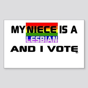 My Niece is a Lesbian Sticker