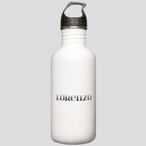 Lorenzo Carved Metal Stainless Water Bottle 1.0L