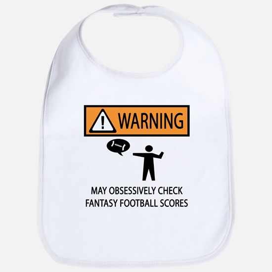 Checks Fantasy Football Scores Bib