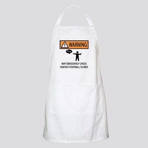 Checks Fantasy Football Scores Apron