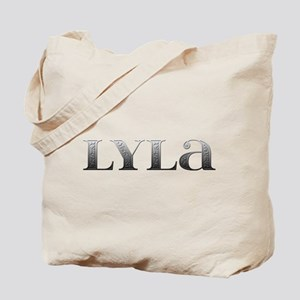 Lyla Carved Metal Tote Bag