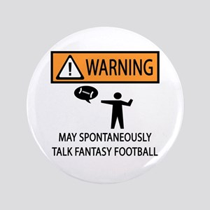 "Talks About Fantasy Football 3.5"" Button"