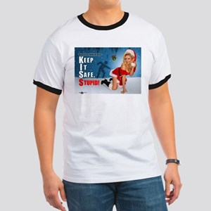 Safety Geeks Christmas Ringer T