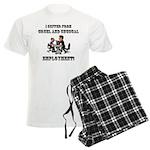 Cruel Employment Men's Light Pajamas