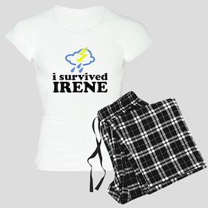 I Survived Irene Women's Light Pajamas