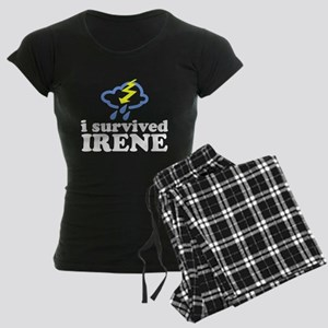 I Survived Irene Women's Dark Pajamas
