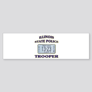 Illinois State Police Sticker (Bumper)