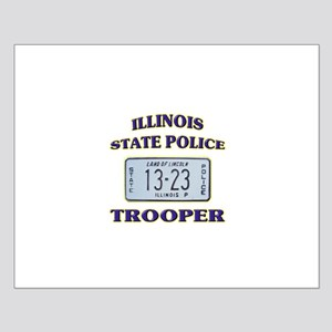 Illinois State Police Small Poster