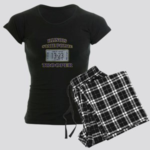 Illinois State Police Women's Dark Pajamas