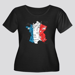 everything France Plus Size T-Shirt