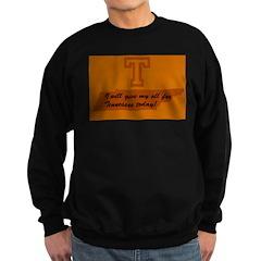 I will give my all Sweatshirt (dark)