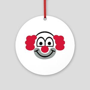 Clown face Ornament (Round)