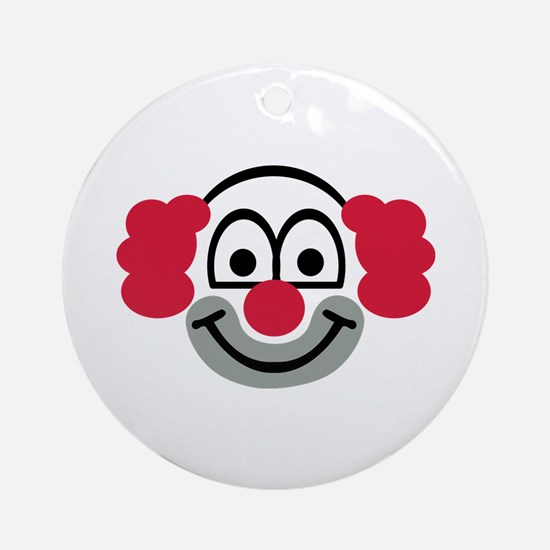 Clown face Ornament (Round)