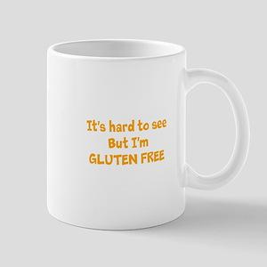 Hard to see, Gluten free Mug
