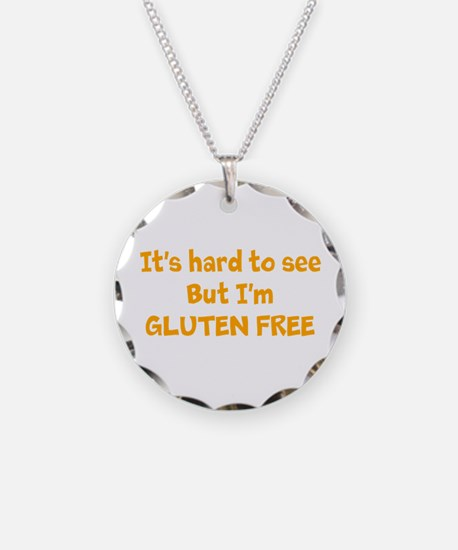 Hard to see, Gluten free Necklace