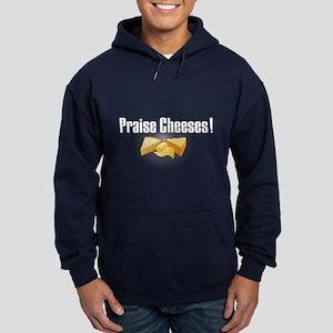 Praise Cheeses! Hoodie (dark)