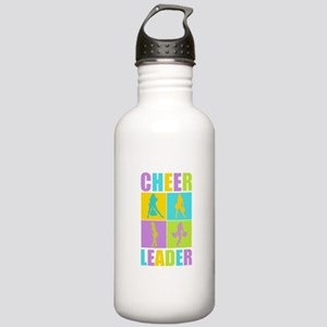 Colorful Cheerleaders Stainless Water Bottle 1.0L