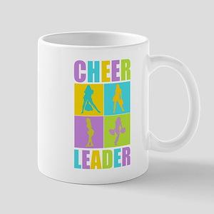Colorful Cheerleaders Mug