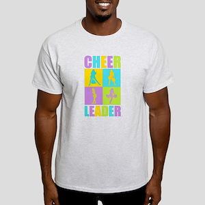 Colorful Cheerleaders Light T-Shirt