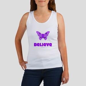 iBelieve - Purple Women's Tank Top
