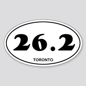 Toronto Marathon Sticker (Oval)