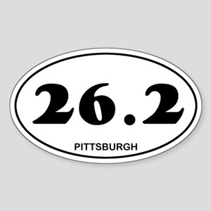 Pittsburgh Marathon Sticker (Oval)