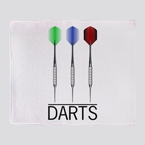 3 Darts Throw Blanket