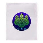 Government Seal of Japan 2 Throw Blanket