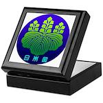 Government Seal of Japan 2 Keepsake Box