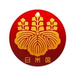 Government Seal of Japan Ornament (Round)