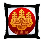 Government Seal of Japan Throw Pillow