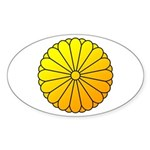 national emblem Sticker (Oval)