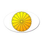 national emblem 38.5 x 24.5 Oval Wall Peel