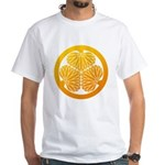 mitsuba-aoi White T-Shirt