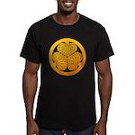 mitsuba-aoi Men's Fitted T-Shirt (dark)