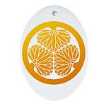 mitsuba-aoi Ornament (Oval)