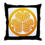 mitsuba-aoi Throw Pillow