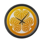 mitsuba-aoi Large Wall Clock